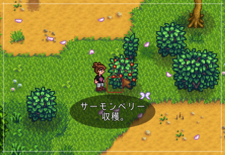 【Stardew Valley】1年目の春、15日(月)の日記